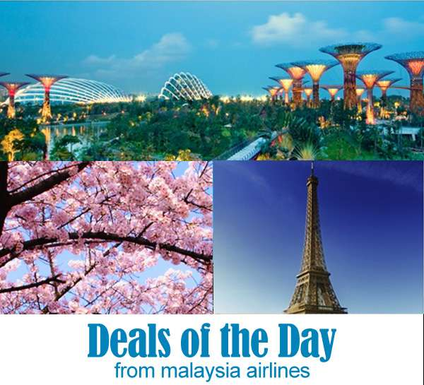 Mas Airlines Promo deals of the day