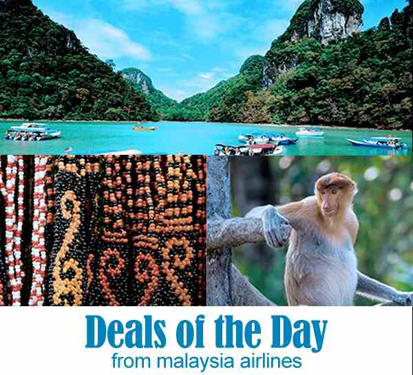 Mas Airlines Domestic Deals Of The Day