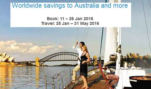 Mas Airlines Australia promotion 2016