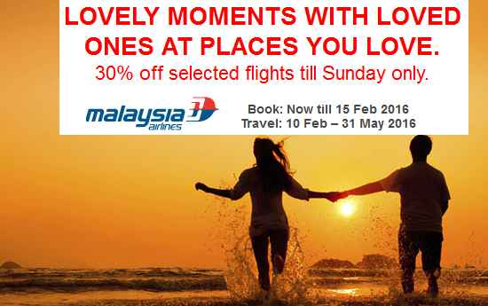 Mas Airlines Lovely Moments Promotion