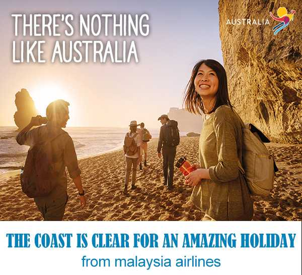 Malaysia Airlines Australia Holiday Promotion