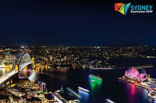 Malaysia Airlines Vivid Sydney Promotion
