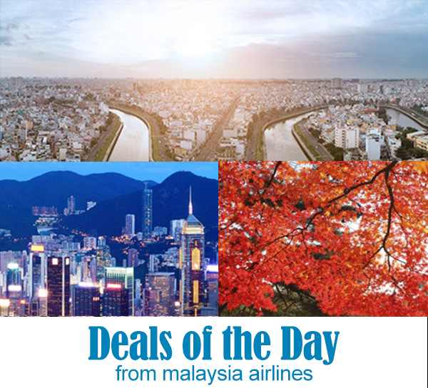 Mas Airlines Deals Of The Day May 2016