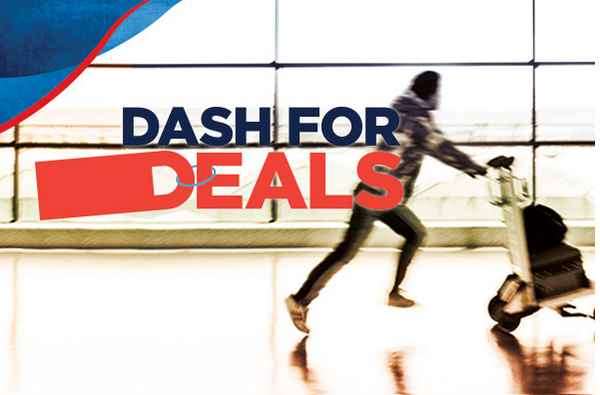 Mas Airlines holiday with Dash for Deals