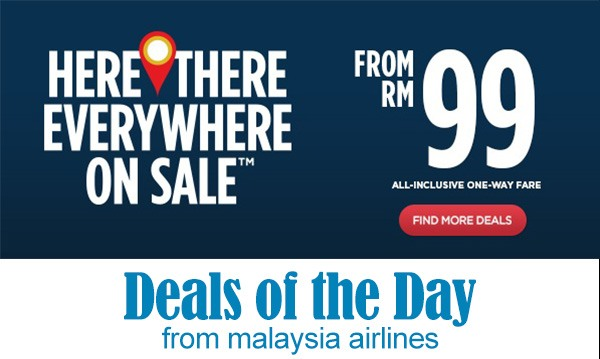 Mas Airlines Everywhere On Sale Promotion