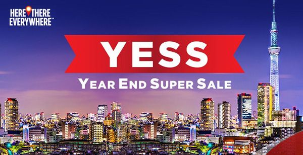 Mas Airlines Year End Super Sale