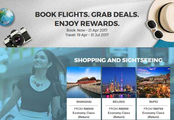 Malaysia Airlines Book Flights Sale