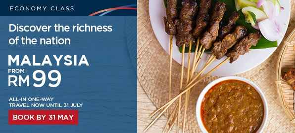 mas airlines discover Malaysia Promotion