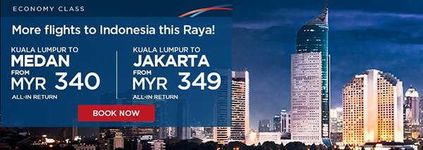 Mas Airlines More Flights to Indonesia Promo