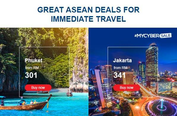 Malaysia Airlines Great Asean Deals
