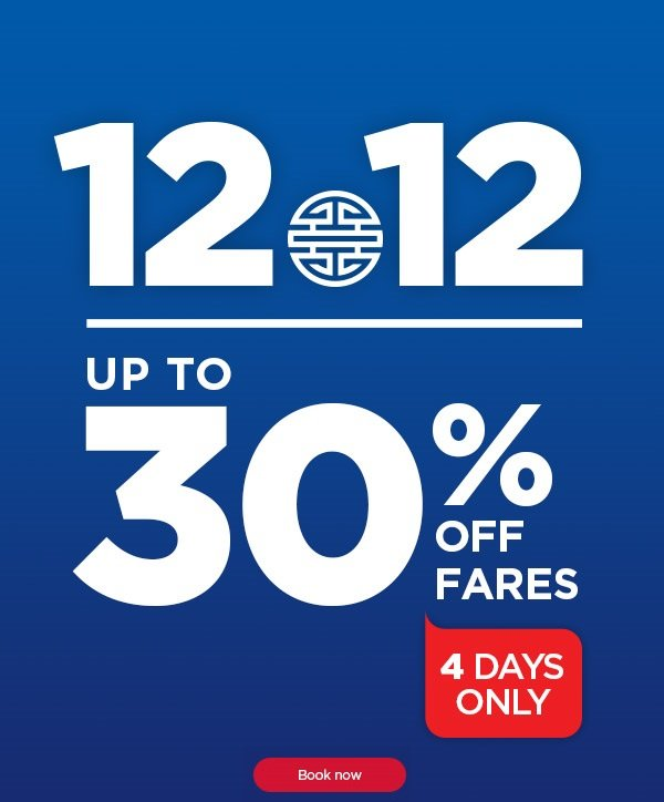 Mas Airlines 4 Days 30 Percent Off Fares Sale