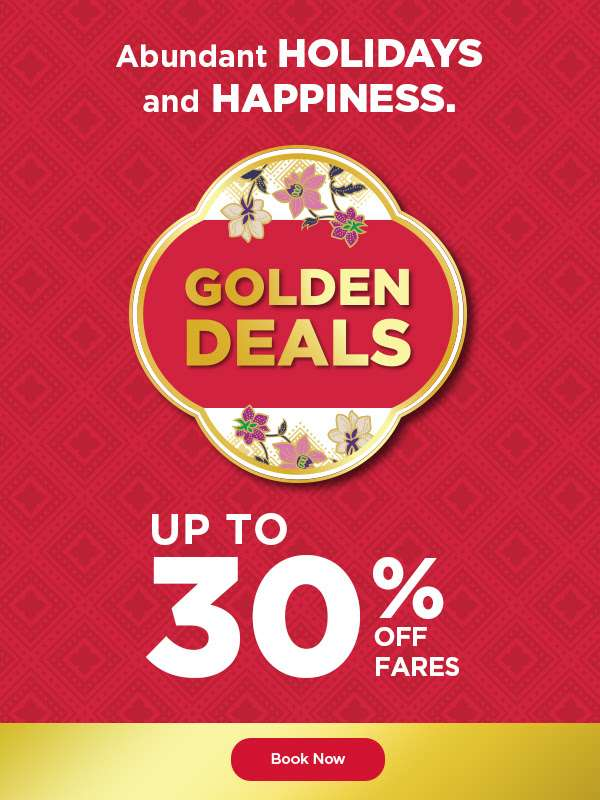 Malaysia Airlines CNY Golden Deals