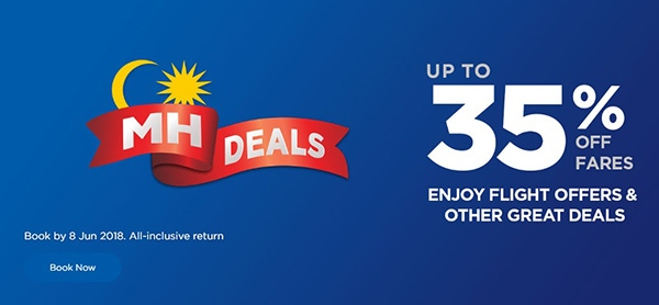 Mas Airlines 35 Percent Off Sale