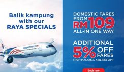 Malaysia Airlines Raya Special Deals