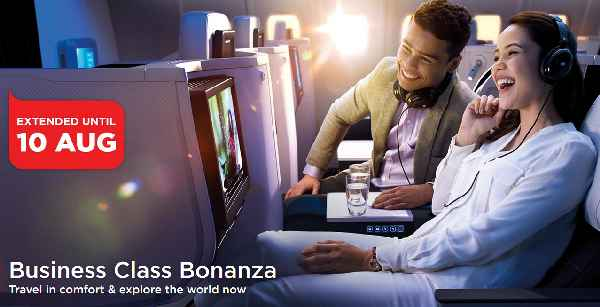 Mas Airlines Business Class Bonanza