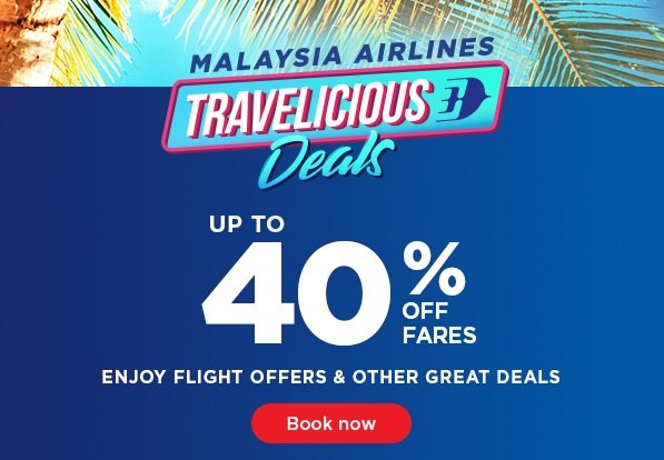 Mas Airlines Travelicious Deals
