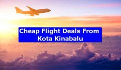 Cheap Flight Deals From Kota Kinabalu