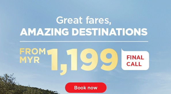 Mas Airlines Wonders of Australia Promotion