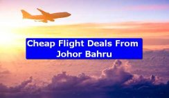 Cheap Flight Deals From Johor Bahru