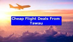 Cheap Flight Deals From Tawau