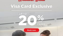Malaysia Airlines Visa Card Exclusive Promotion